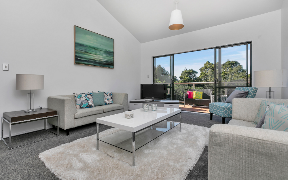 Two bedroom modern apartment living