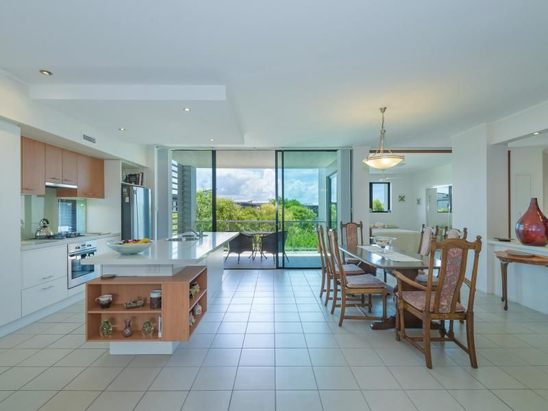 Expansive three-bedroom waterfront apartment