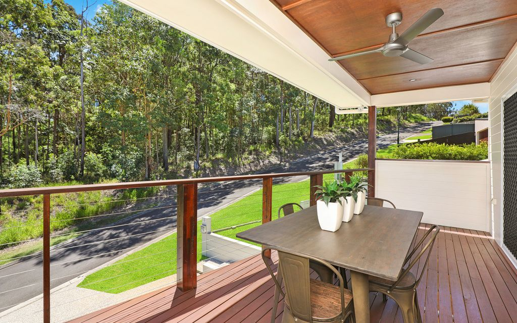 Sophisticated home offering spacious open plan living with a serene outlook