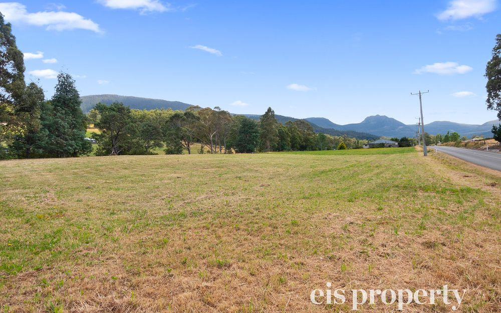 Level, river frontage land holding
