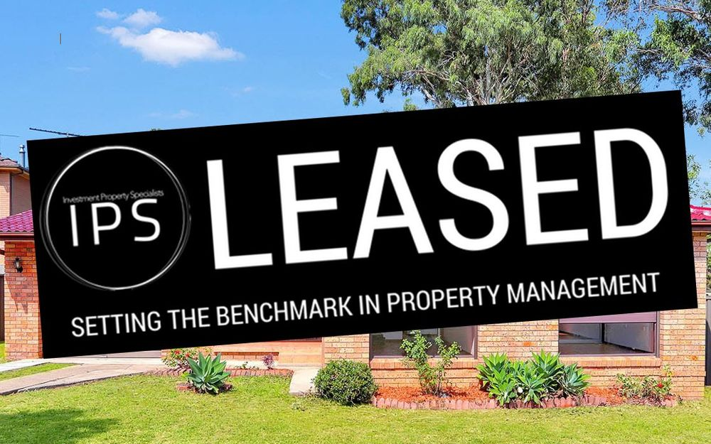 LEASED – BY BROOKE HARDMAN 0448 88 99 11