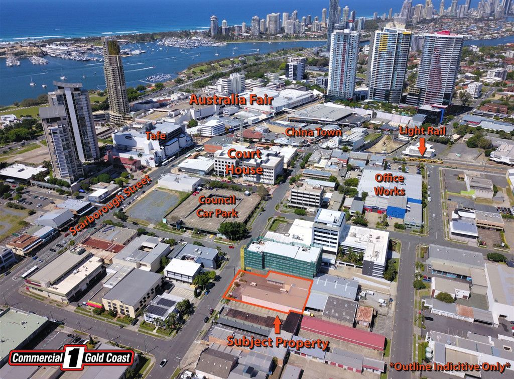 Southport CBD – 1525m2* Future Development With Strong Holding Income
