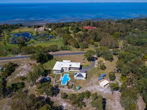 Magnificent Beach-Side Acreage Home