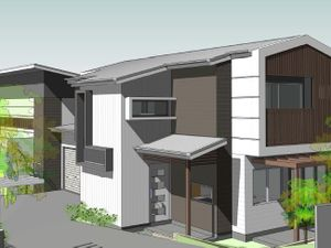 DA approved for 3 Townhouses –