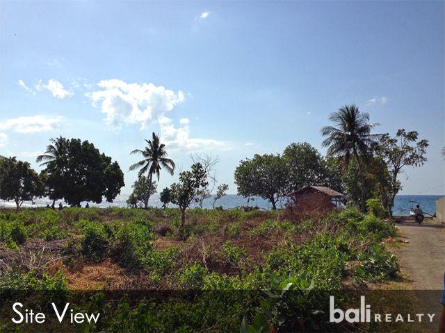 Large Plot Of Beachfront Land- North Bali Freehold