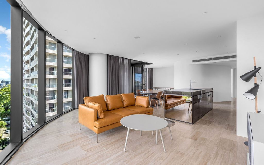 Partly Furnished – Abian Luxury Apartment
