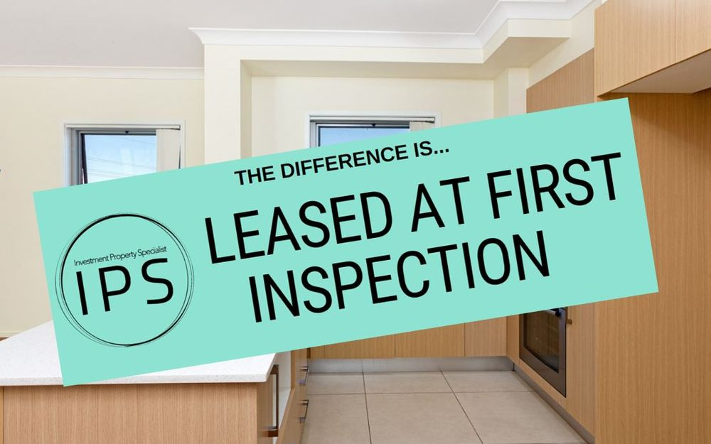 LEASED AT FIRST INSPECTION