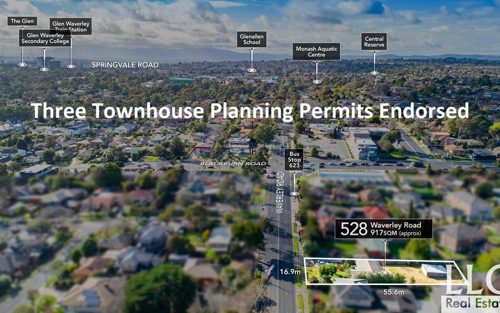 Three Townhouses Endorsed in GWSC Zone