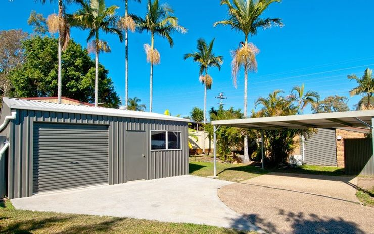 Family Home With Fully Enclosed Yard + Double Bay Shed + Double Carport!!!