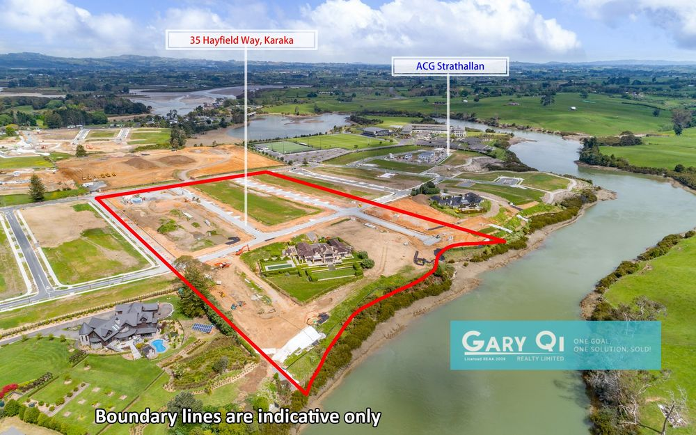 Golden Harbor Karaka Prime Section $500k