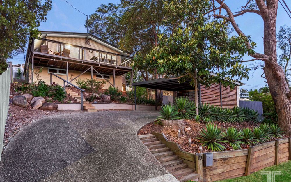 Perched into the Hillside with Natural Bushland Views