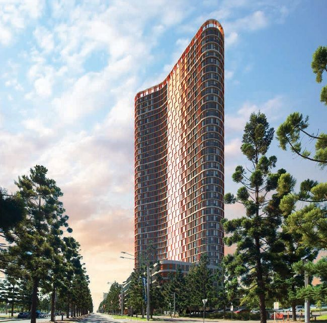 Boomerang Tower | Brand new luxury one bedroom plus study room