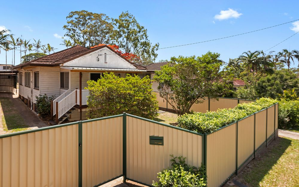 Pet friendly home with fully fenced yard