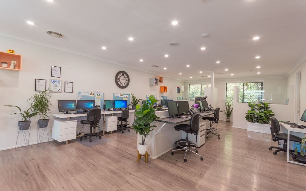 Stunning Open Plan Working Environment