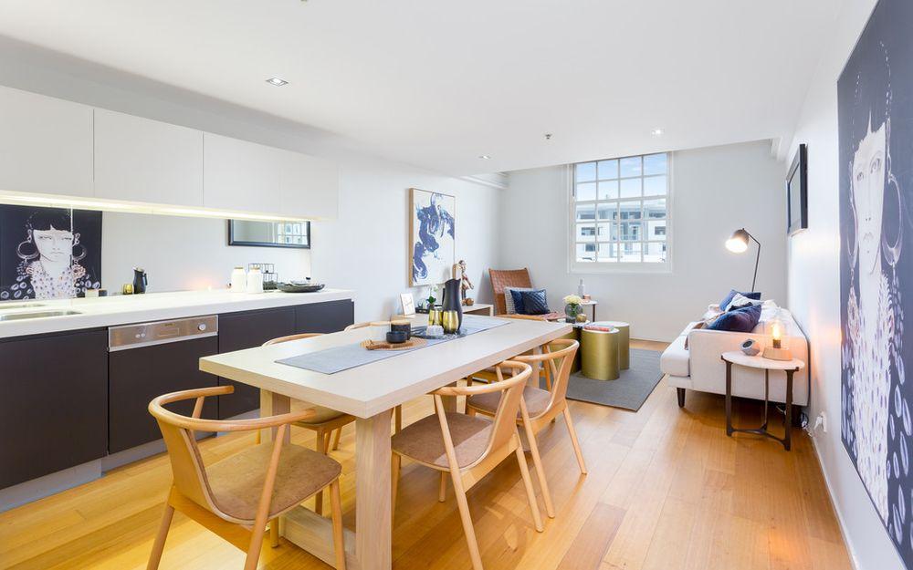 Iconic Teneriffe London Woolstores Top Floor Apartment