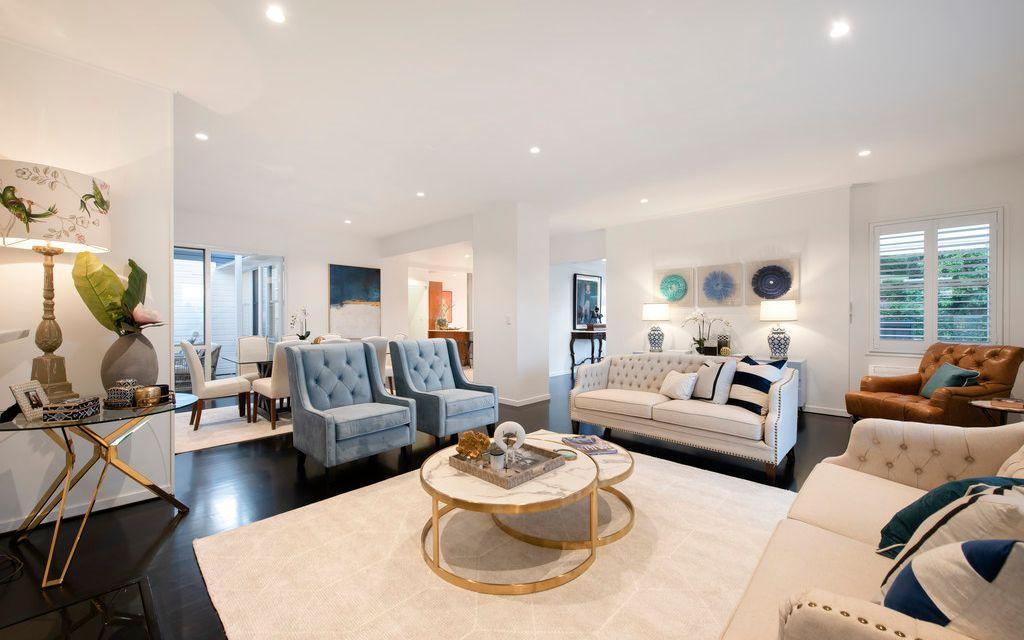 Stylish One Level Residence, Prestigious Address and Land Banking Opportunity