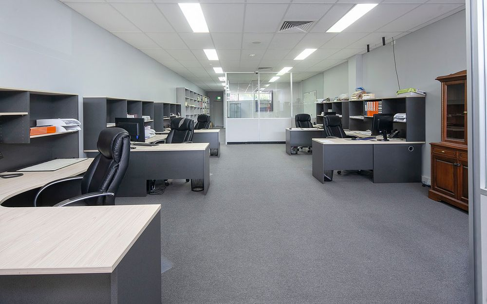 Purpose Built office with flare