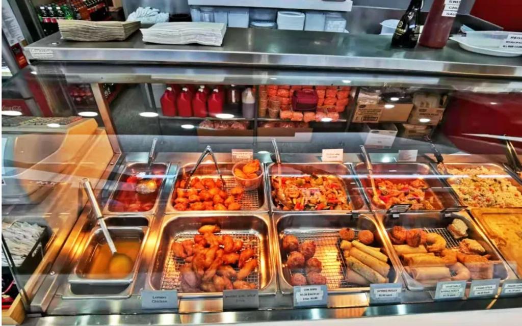 Well Established Asian Restaurant in popular center for sale