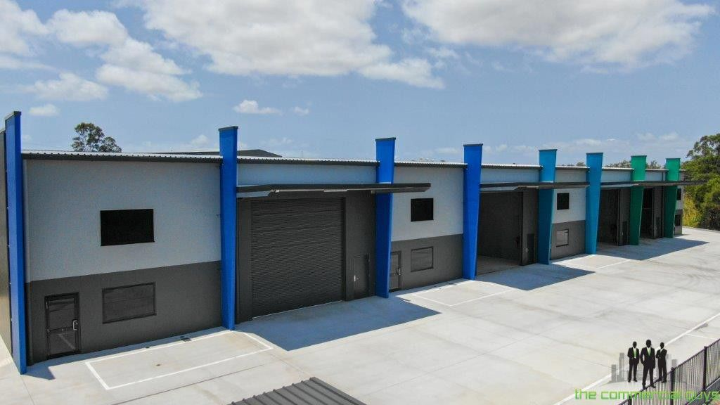 Brand New Front of Complex Tilt Panel Constructed Warehouse Close to Bruce Highway