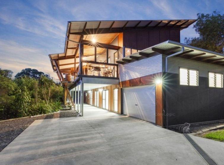 Unique, tranquil Hinterland home
