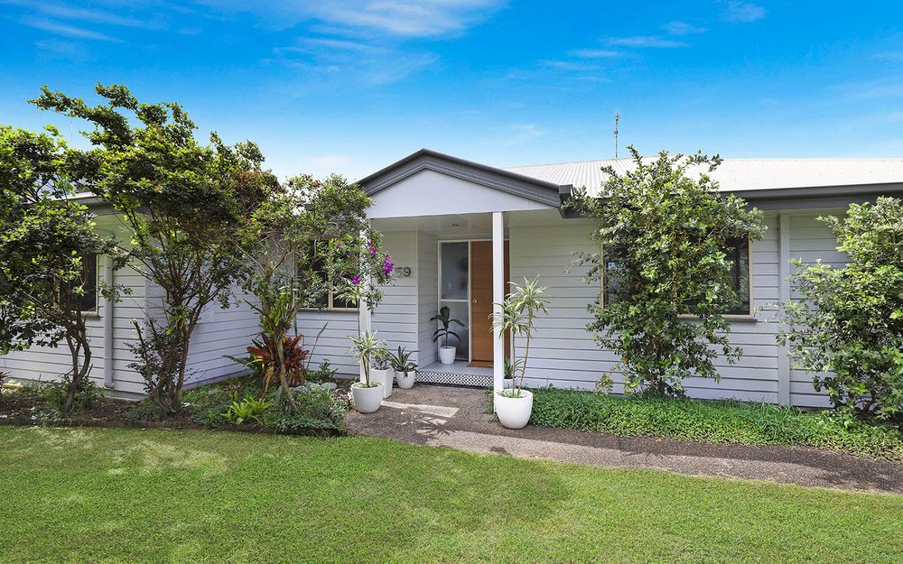 Stunningly renovated masterpiece with northerly rural views to Mount Coolum