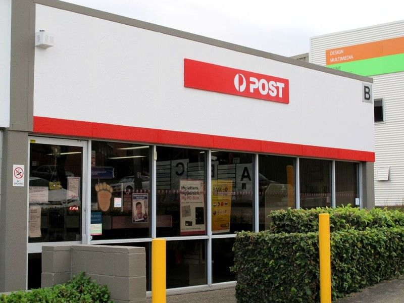 Good Post Office in a Business Industrial Area Brisbane