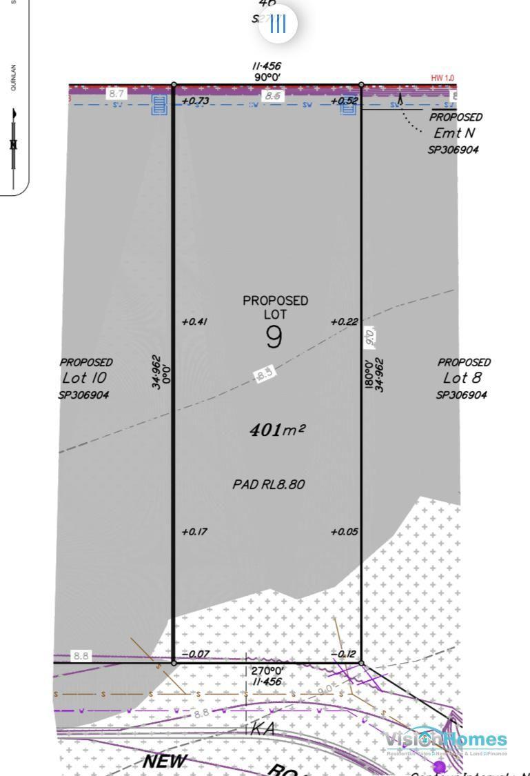 Lot 9 – Registered Land – 400m2