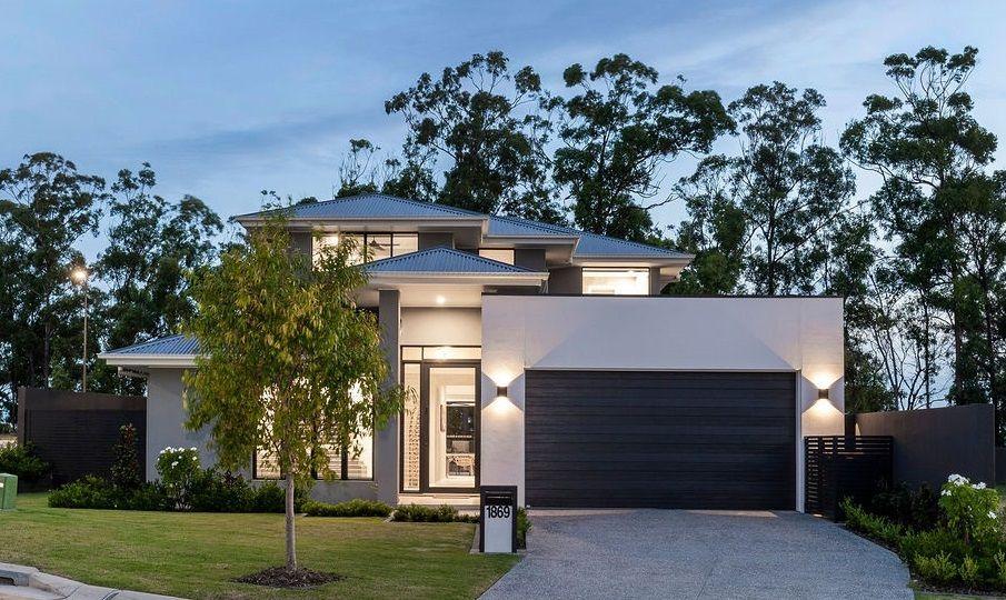 Near new designer home in a premier position.