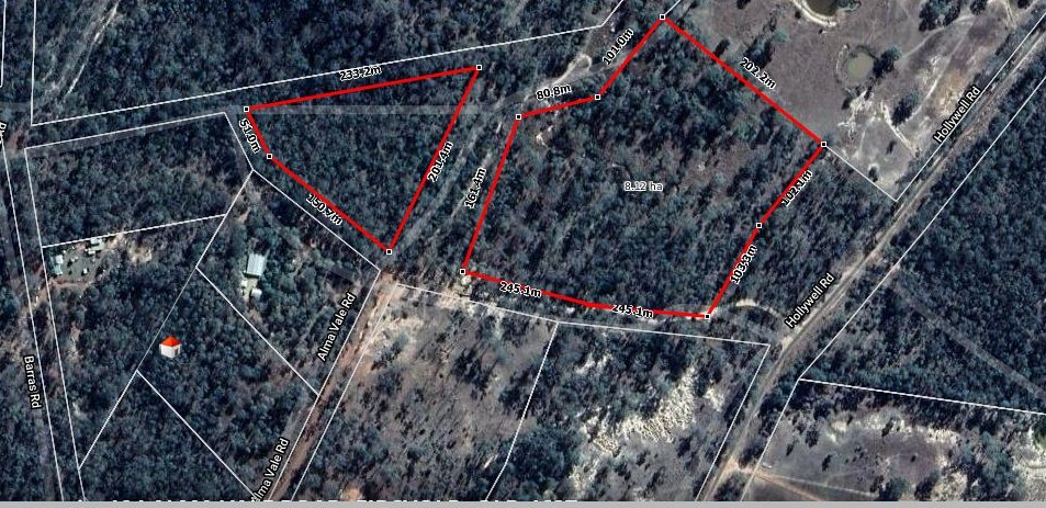 20 ACRES HANDY TO EIDSVOLD