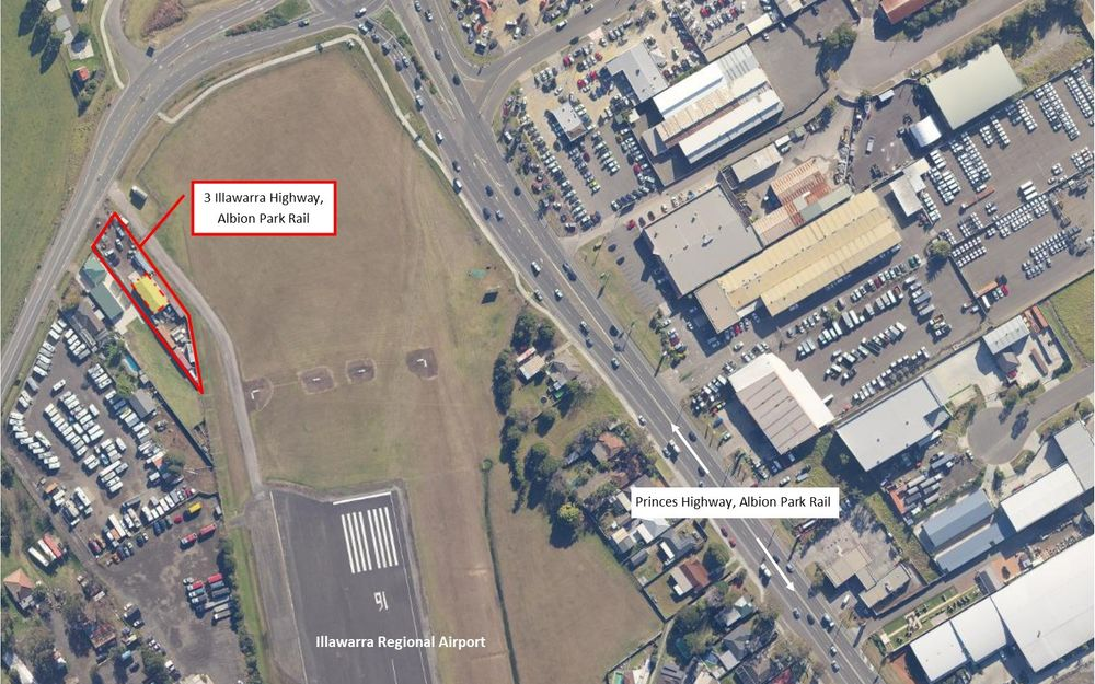 PRIME LOCATION LAND & SHED FOR LEASE
