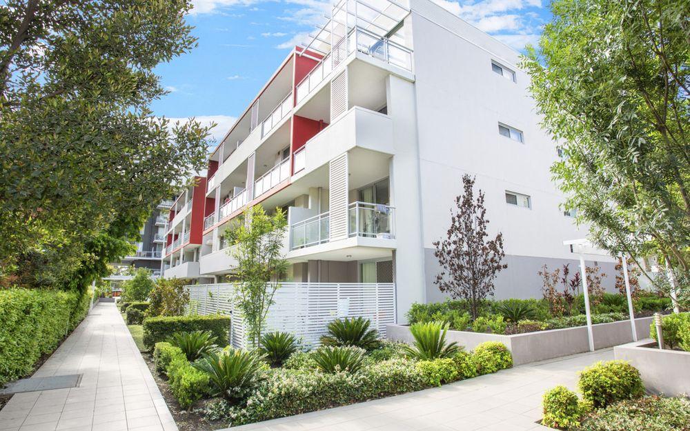 Ground floor garden apartment
