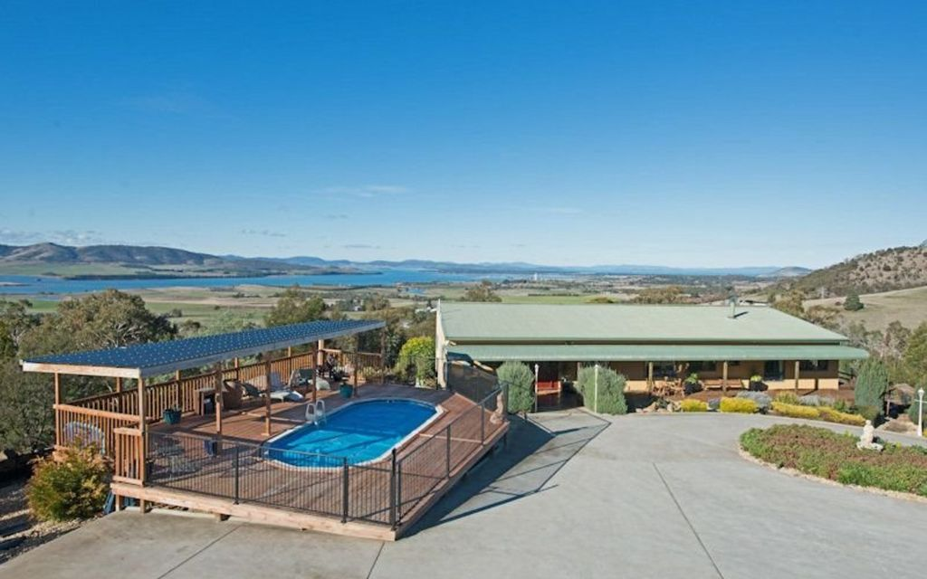 A home away from home – set on approx 20 acres close to Hobart