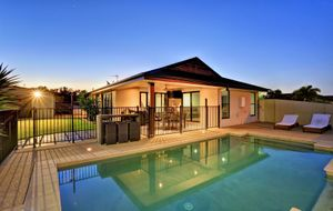 EXECUTIVE HOME WITH POOL AND SHED!