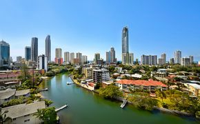 """""""Edgewater Gardens"""" In the Heart of Surfers Paradise - River Views - Unfurnished"""