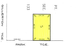 979 SQM OF LAND WITH A 24.34 METRE FRONTAGE x 40.23 METRES DEEP & BACKING LOT 100 & WILL SELL FAST!
