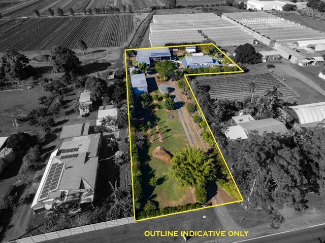 2 Homes + caravan + 8 carports + fruit trees at an incredible price to sell!!!