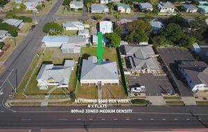 4 FLATS RETURNING $600.00 P/W WITH FANTASTIC EXPOSURE IN GROWTH CORRIDOR