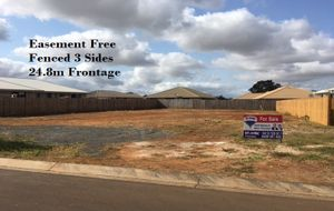 24.8m FRONTAGE + FENCED ON 3 SIDES