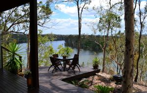 STUNNING HOME OFFERS FANTASTIC RIVER VIEWS