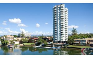 Waterfront Apartment In The Heart Of Surfers. North East 2 Bedrooms 2 Bathrooms.