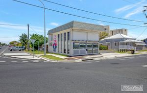PRICE REDUCED HIGH PROFILE MODERN DOUBLE STOREY BESSER BLOCK COMMERCIAL BUILDING - BUSY CORNER SITE