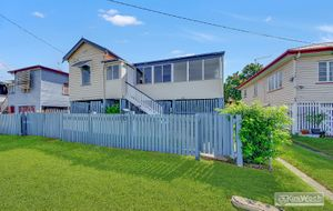 THIS HOME IS GREAT BUYING AT $149,000 - CLASSIC WEATHERBOARD GABLE HOME - 5 BEDROOMS - MODERN KITCHEN - FAMILY ROOM - LOCKUP UNDER.