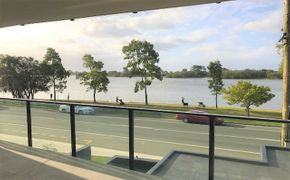 Foreshore is spectacularly moored on the sands of the iconic Maroochy River