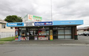 MODERN AIR CONDITIONED SHOP WITH HIGH EXPOSURE ATCHER STREET FRONTAGE AND OFF STREET CAR PARK.