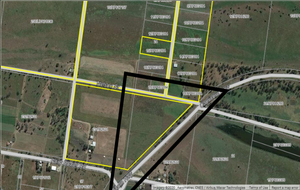 LEVEL 20 ACRE ALLOTMENT - 600 m CAPRICORN HIGHWAY FRONTAGE - POSSIBLE COMMERCIAL SITE STCA