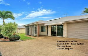 3 BEDROOMS, OFFICE, DUCTED A/C, 2 LIVING AREAS AND SOLAR