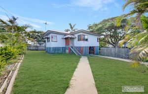 A VERY AFFORDABLE $178,000 = WELL AIR CONDITIONED 3 BEDROOM HIGH SET HOME - WELL FENCED CORNER ALLOT