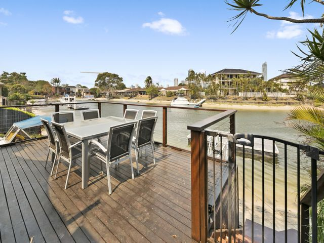 East Facing To Waterfront Duplex with Skyline Surfers Paradise Views.