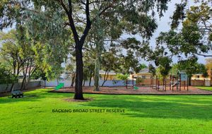 341 SQM ALLOTMENT & BACKING BROAD STREET RESERVE & WILL SELL VERY FAST!